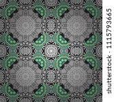 design elements. sketch in... | Shutterstock .eps vector #1115793665