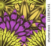 seamless floral background.... | Shutterstock .eps vector #1115819141