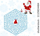 polyhedron maze riddle game ...   Shutterstock .eps vector #1115824484