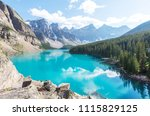 beautiful turquoise waters of... | Shutterstock . vector #1115829125