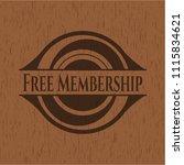 free membership retro style... | Shutterstock .eps vector #1115834621