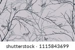 seamless pattern with tree... | Shutterstock .eps vector #1115843699