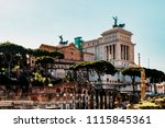 national monument to victor... | Shutterstock . vector #1115845361
