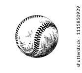 engraved style illustration for ... | Shutterstock . vector #1115850929
