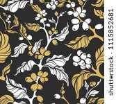 vector nature seamless pattern. ... | Shutterstock .eps vector #1115852681