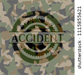 accident on camouflaged texture | Shutterstock .eps vector #1115855621
