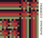 scotland's pattern for... | Shutterstock .eps vector #1115858561