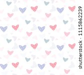 seamless pattern with pastel... | Shutterstock .eps vector #1115862239