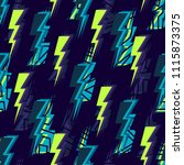 abstract seamless vector... | Shutterstock .eps vector #1115873375