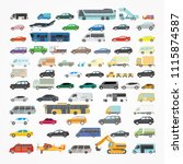 a large set of illustrations of ... | Shutterstock .eps vector #1115874587
