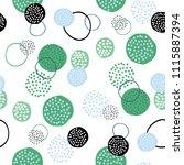 vector seamless creative... | Shutterstock .eps vector #1115887394