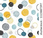 vector seamless creative... | Shutterstock .eps vector #1115887397