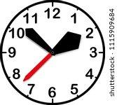 kid clocks. vector illustration | Shutterstock .eps vector #1115909684