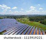aerial power station | Shutterstock . vector #1115919221