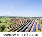 aerial power station | Shutterstock . vector #1115919239