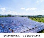 aerial power station | Shutterstock . vector #1115919245