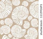 shell pattern   Shutterstock .eps vector #111592691
