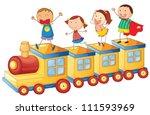 Illustration Of A Kids On A...