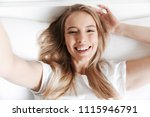 photo of cute beautiful funny...   Shutterstock . vector #1115946791