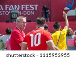 rostov on don  russia june 16... | Shutterstock . vector #1115953955