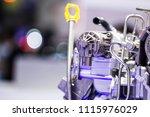 car engine close up | Shutterstock . vector #1115976029