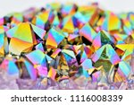 amazing colorful flashing... | Shutterstock . vector #1116008339