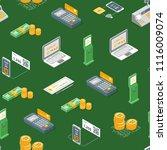 payment methods seamless...   Shutterstock .eps vector #1116009074