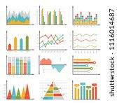 infographics symbols. business... | Shutterstock .eps vector #1116014687
