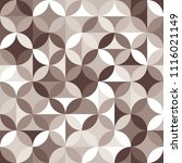 seamless pattern with circles... | Shutterstock .eps vector #1116021149