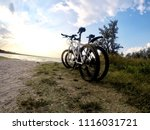 bicycle and nature | Shutterstock . vector #1116031721