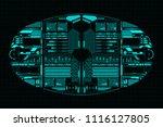 hud futuristic technology...