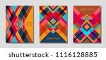 collection of cover page... | Shutterstock .eps vector #1116128885