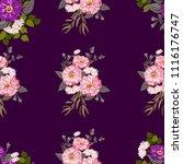 simple cute pattern in small... | Shutterstock .eps vector #1116176747