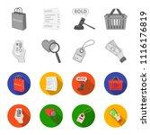 hand  mobile phone  online... | Shutterstock .eps vector #1116176819
