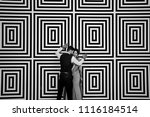 black and white picture of...   Shutterstock . vector #1116184514