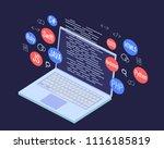 programming banner  coding ...   Shutterstock .eps vector #1116185819