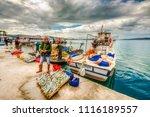 ayvalik  turkey   february 14 ... | Shutterstock . vector #1116189557