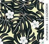 beautiful tropical seamless... | Shutterstock .eps vector #1116200834
