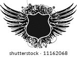 an heraldic shield or badge ... | Shutterstock .eps vector #11162068