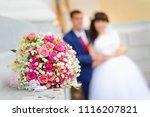 A Wedding Bouquet Close Up...
