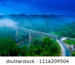 scenic aerial view of cirahong... | Shutterstock . vector #1116209504