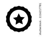 badge icon vector icon. simple...