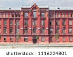 vintage architecture classical... | Shutterstock . vector #1116224801