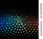 squared colorful vector... | Shutterstock .eps vector #1116232565