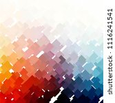 vintage halftone color texture... | Shutterstock .eps vector #1116241541