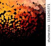 vintage halftone color texture... | Shutterstock .eps vector #1116241571