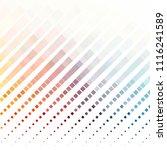vintage halftone color texture... | Shutterstock .eps vector #1116241589