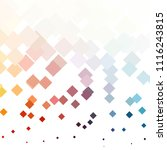 squared colorful vector... | Shutterstock .eps vector #1116243815