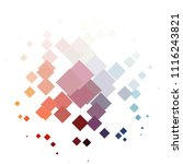 squared colorful vector... | Shutterstock .eps vector #1116243821