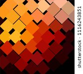 squared colorful vector... | Shutterstock .eps vector #1116243851